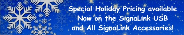 Holiday Special Pricing